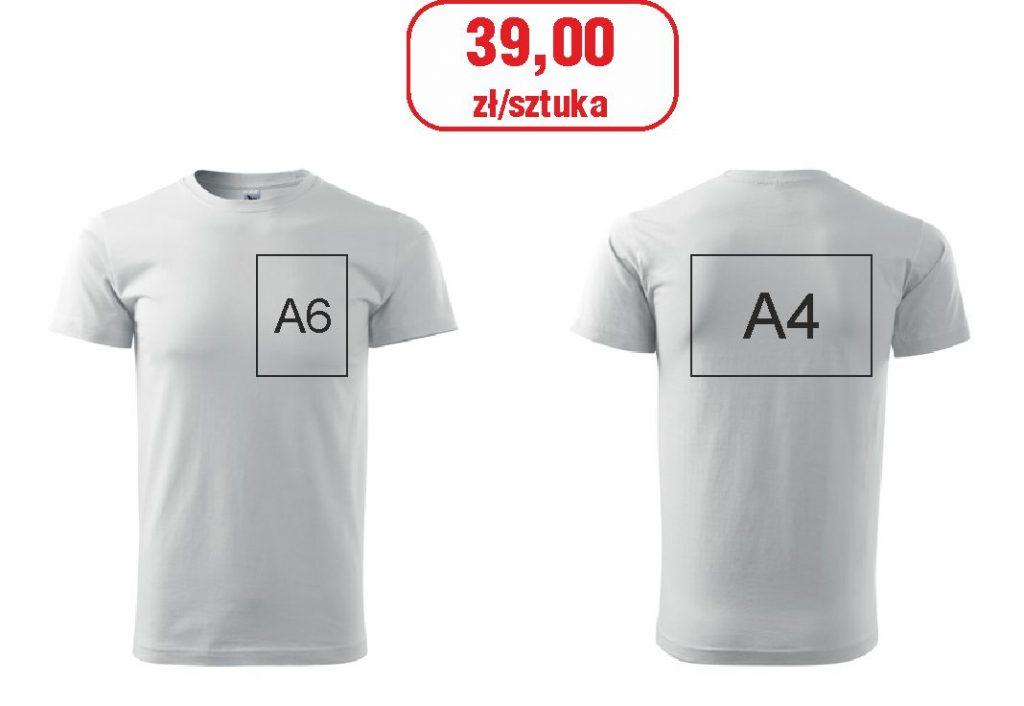 Promocja koszulki z nadrukiem www.pracowniakreska.eu